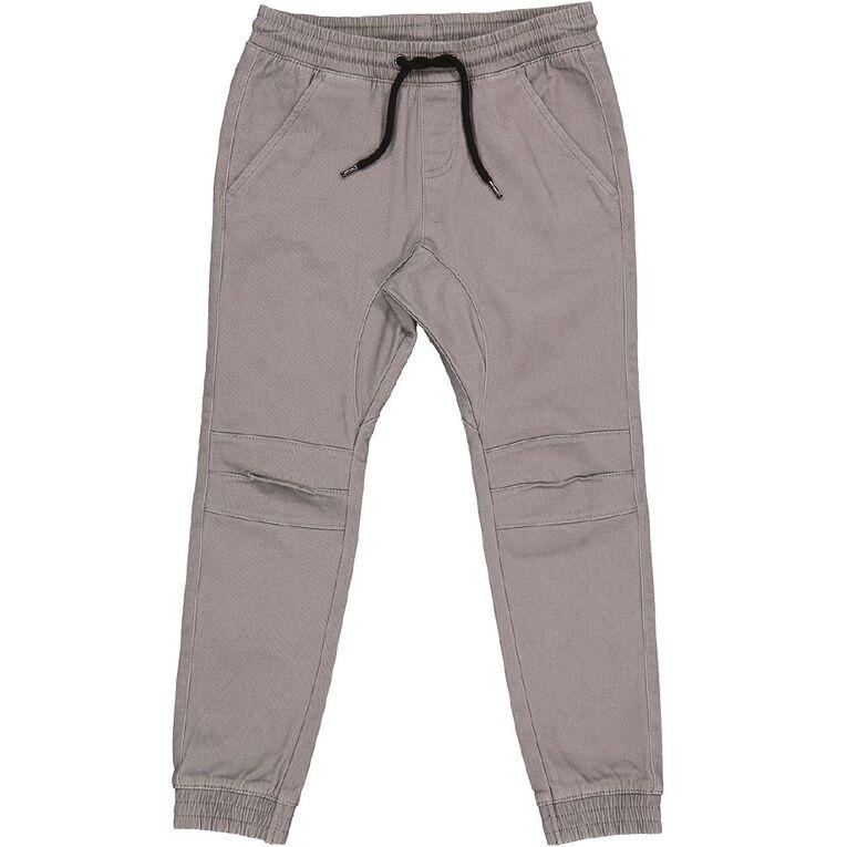 Young Original Moto Cuff Chino Pants, Grey Dark, hi-res image number null
