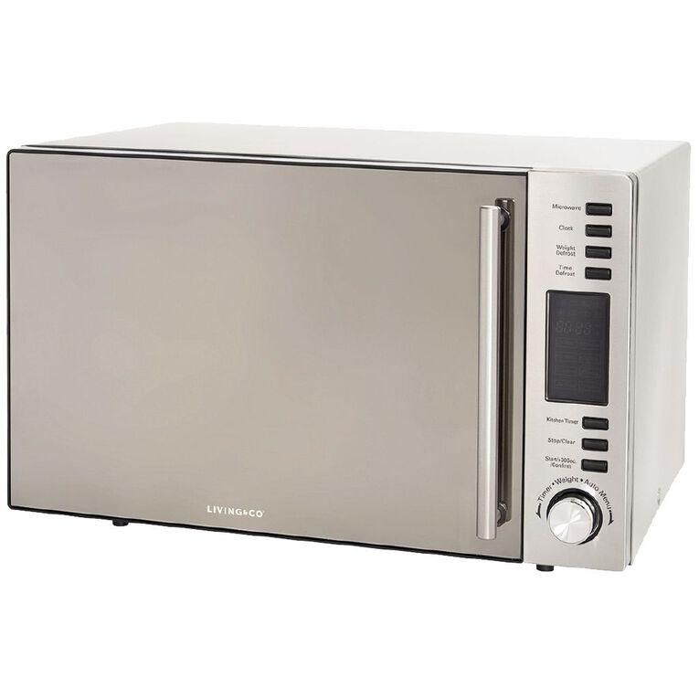 Living & Co Microwave Mirror Door 30 Litres 900w, , hi-res