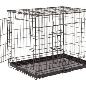 Petzone Pet  Cage Black Large