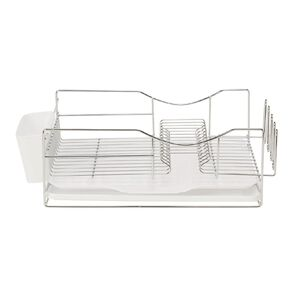 Living & Co Deluxe Wire Dish Rack White