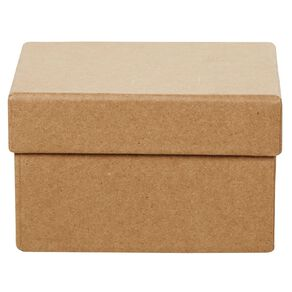 Uniti DIY Kraft Paper Square Box