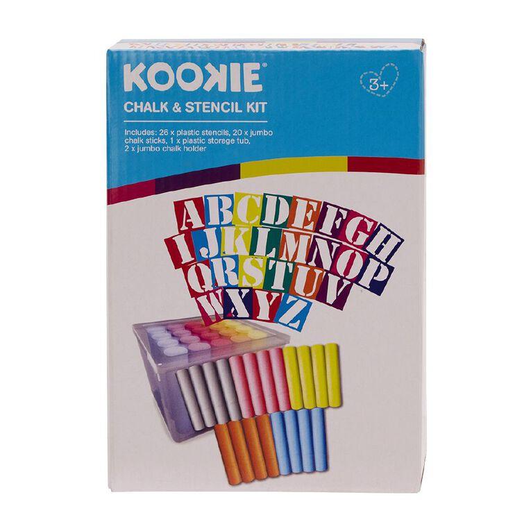 Kookie Stencil Chalk Kit, , hi-res