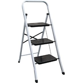 Bulldog 3 Step Steel Ladder