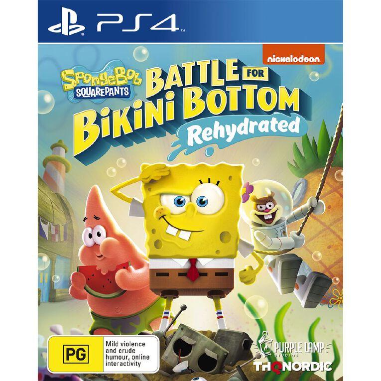 PS4 Spongebob Battle For Bikini Bottom Rehydrated, , hi-res