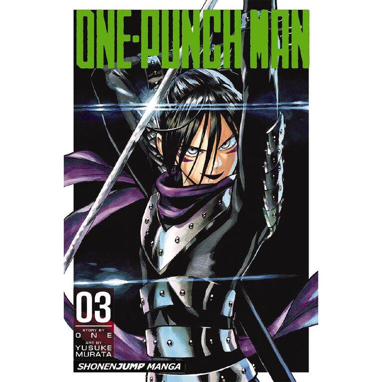 One-Punch Man Vol #3 by Yusuke Murata, , hi-res image number null