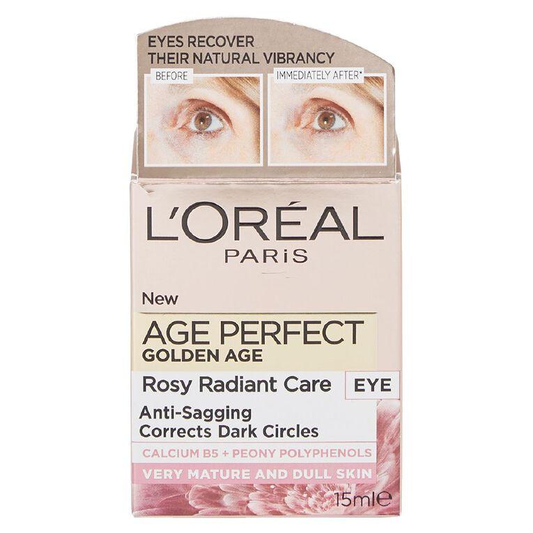 L'Oreal Paris Golden Age Eye Cream, , hi-res