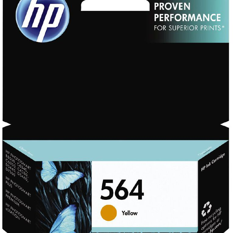 HP Ink 564 Yellow (300 Pages), , hi-res