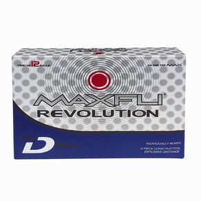 Maxfli Revolution D Ball 12 Pack