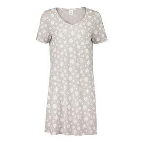 H&H Women's Short Sleeves Nightie