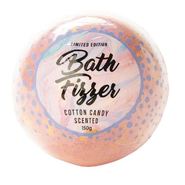 Bath Fizzer Cotton Candy Scented 150g, , hi-res