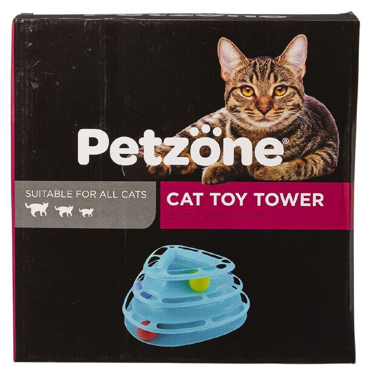 Petzone Cat Toy Tiered with Balls, , hi-res