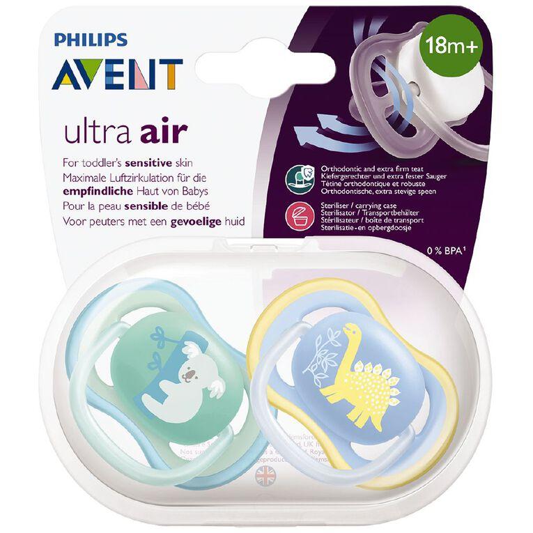 Avent Soother Ultra Air Design 18m+ (2PK), , hi-res