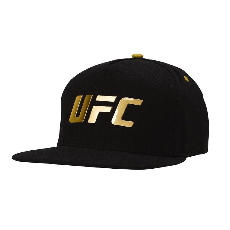 UFC Cap, Black/Gold, hi-res