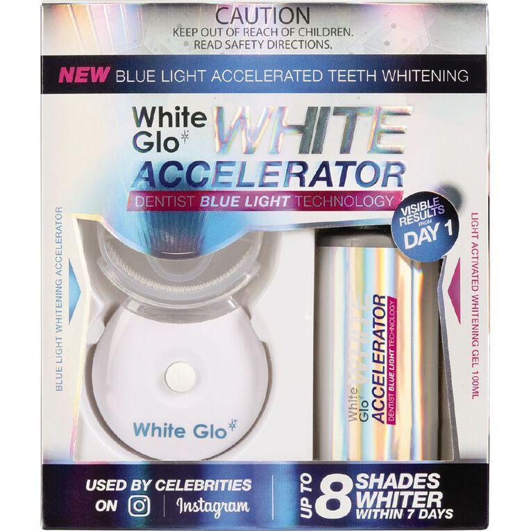 White Glo Blue Light Accelerator Whitening Kit, , hi-res image number null
