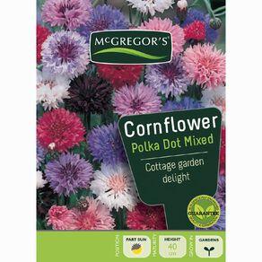 McGregor's Cornflower Polka Dot Mixed Flower Seeds
