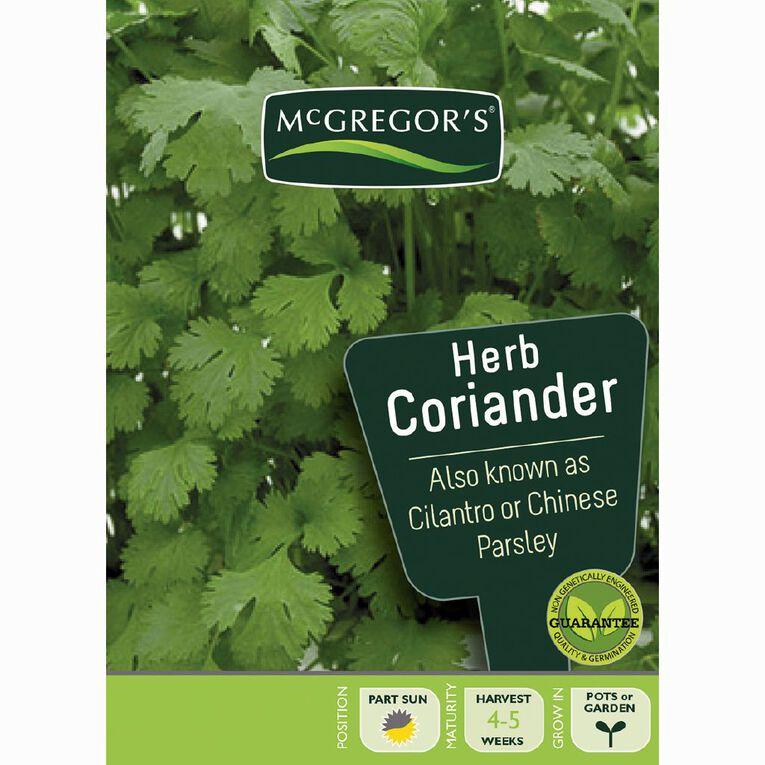 McGregor's Coriander Herb Seeds, , hi-res