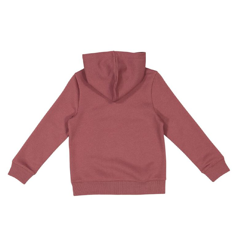 Young Original Pullover Hooded Print Sweatshirt, Pink Dark, hi-res