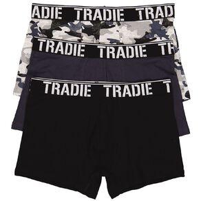 Tradie Men's Printed Trunks 3 Pack