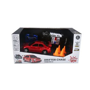 Play Studio Police Chase Radio Control Vehicle 2 Pack