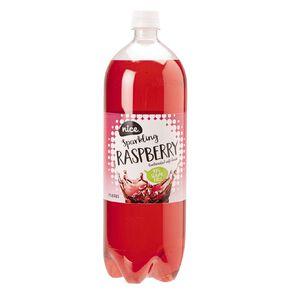 Nice 99% Sugar Free Raspberry Carbonated Beverage Drink 1.5L
