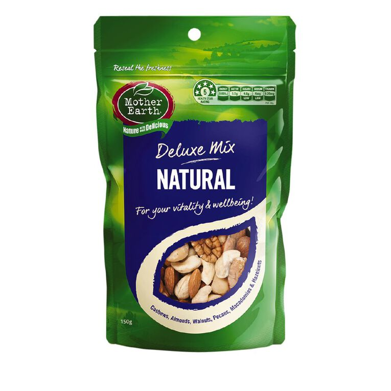 Mother Earth Deluxe Mix Natural 150g, , hi-res
