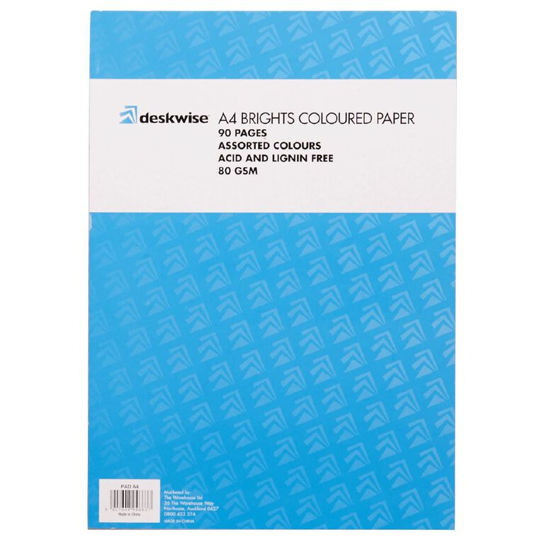 Deskwise Paper Pad Bright A4 90 Page, , hi-res