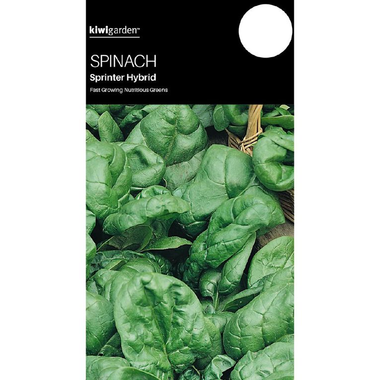 Kiwi Garden Spinach Sprinter Hybrid, , hi-res