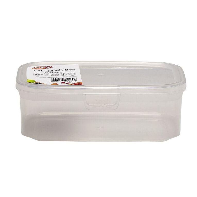 ezy Lunch Box Assorted 1.5L, , hi-res