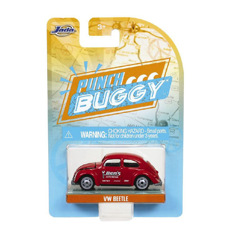 JADA Punch Buggy Vintage Car 1:64 Assorted, , hi-res