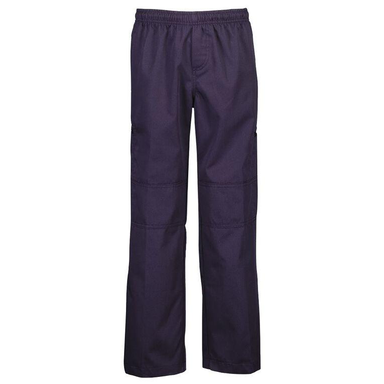 Schooltex Unisex Jet Cargo Trousers, Navy, hi-res