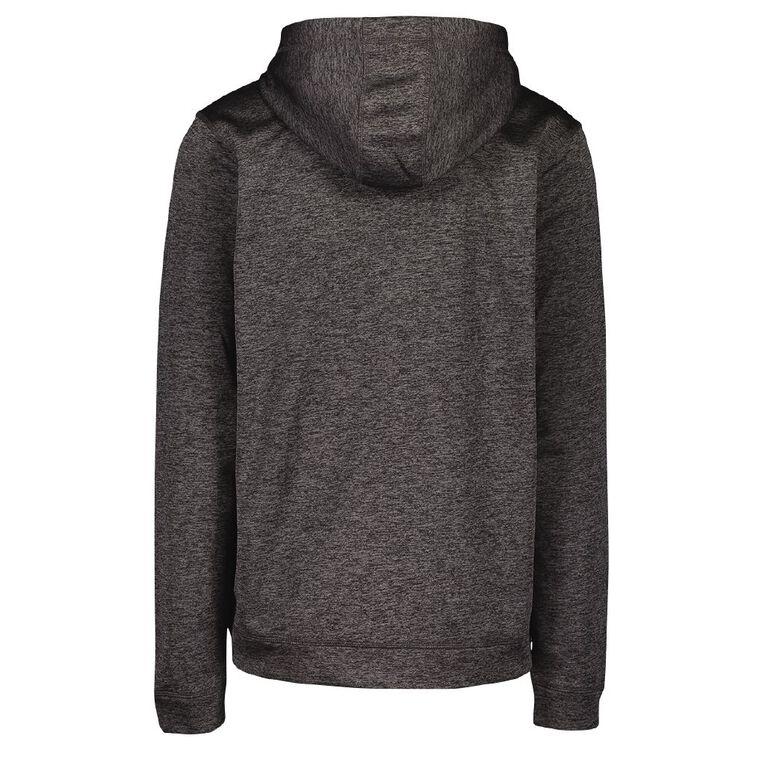 Active Intent Men's Zip Pocket Marle Sweatshirt, Charcoal/Marle, hi-res