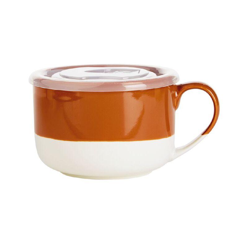 Living & Co Soup Mug Orange, , hi-res