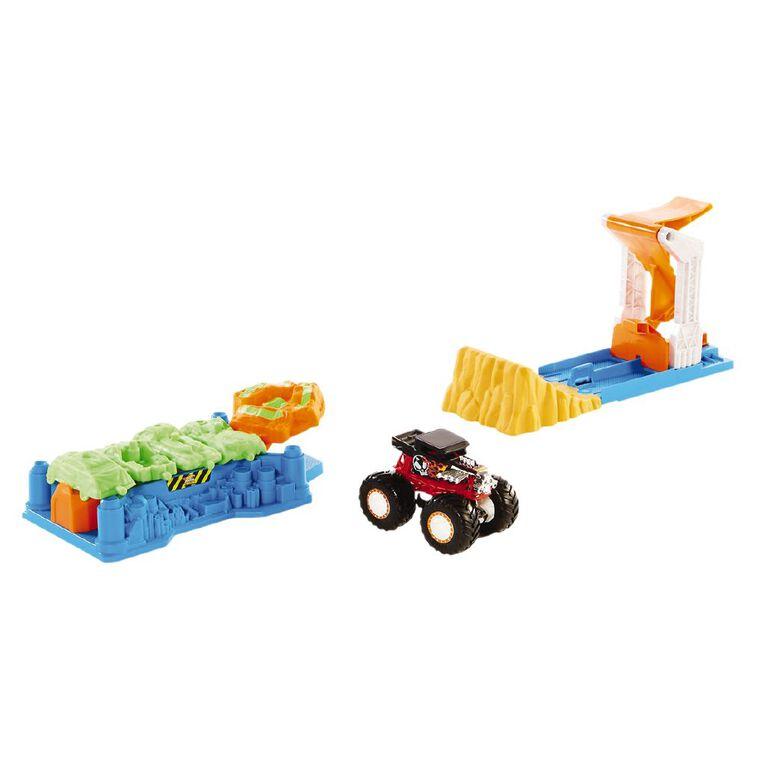 Hot Wheels Monster Trucks Carsplosion Playset, , hi-res