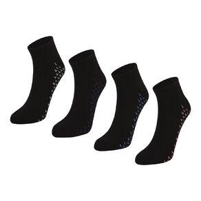Active Intent Women's Low Cut Cushion Sport Socks 4 Pack