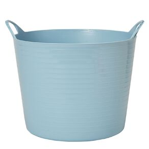 Living & Co Round Flexi Tub Blue 26L
