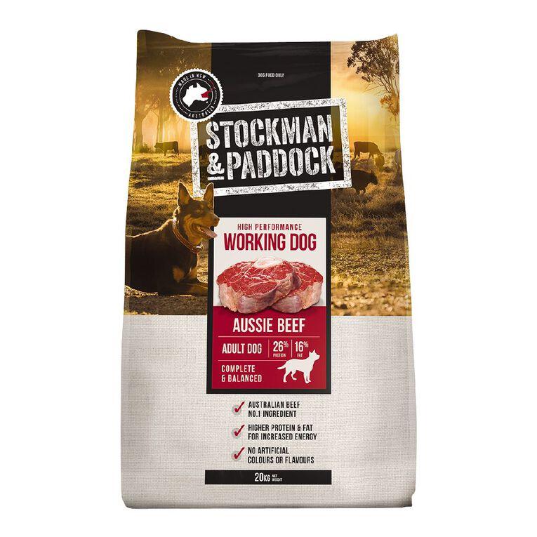 Stockman & Paddock Working Dog 20kg, , hi-res