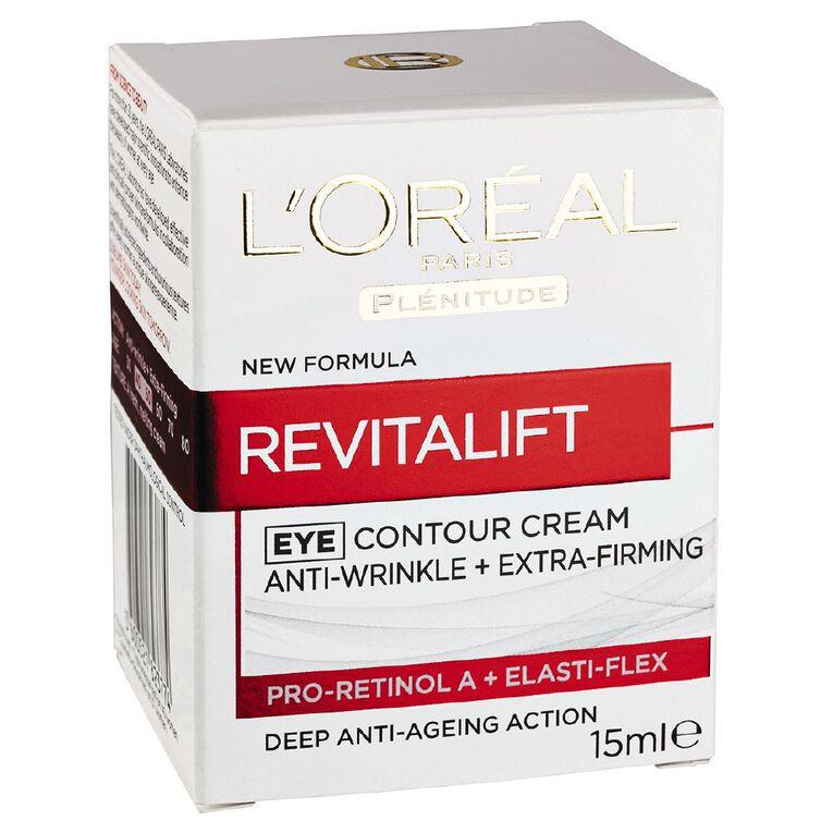 L'Oreal Paris Revitalift Eye Elastin 15ml, , hi-res