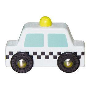 Play Studio Mini Wooden Vehicle Taxi