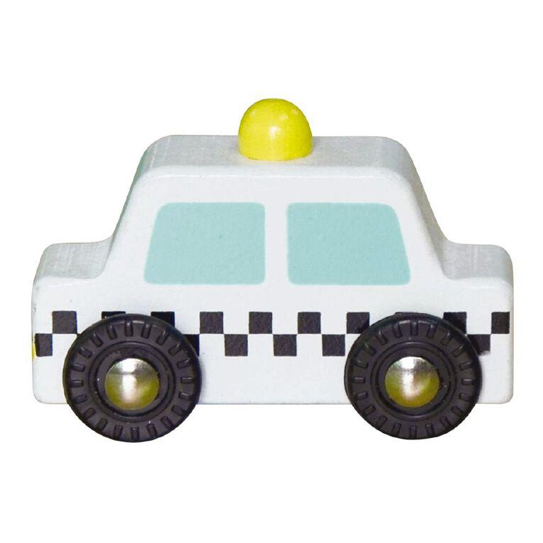 Play Studio Mini Wooden Vehicle Taxi, , hi-res