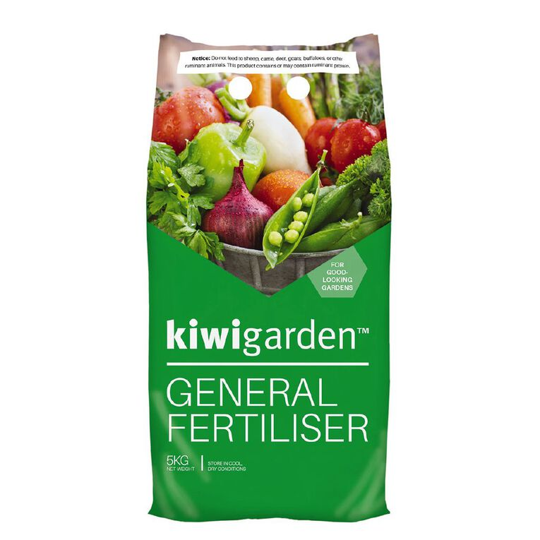 Kiwi Garden General Fertiliser 5kg, , hi-res