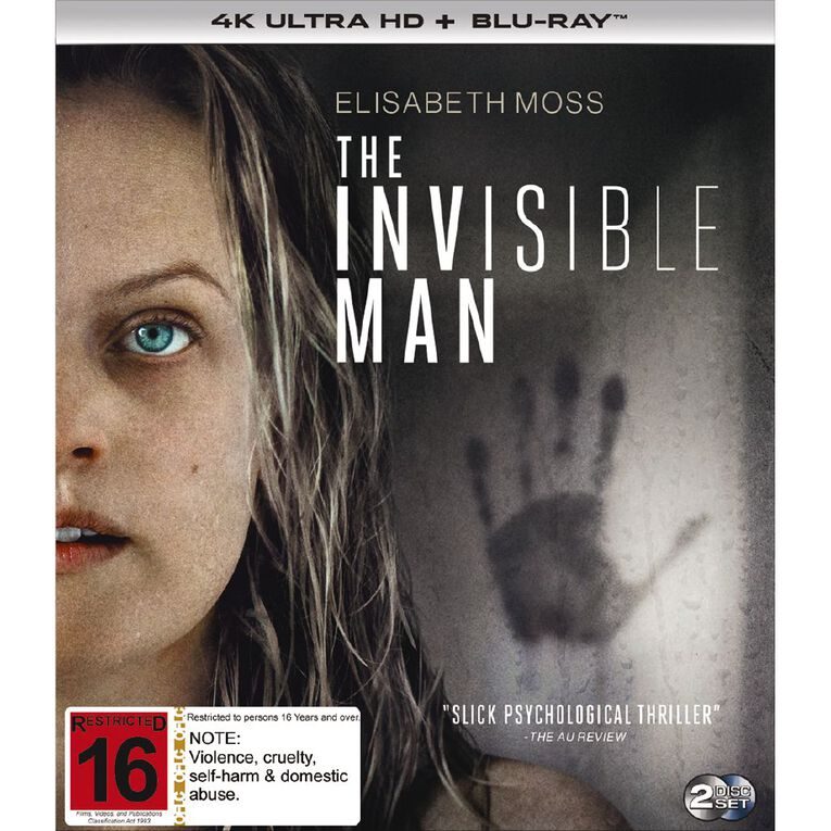 The Invisible Man 4K Blu-ray 1Disc, , hi-res