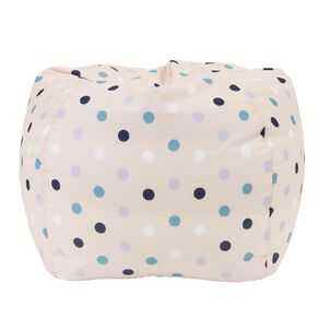Living & Co Bean Bag Cover Pink Dots 150L