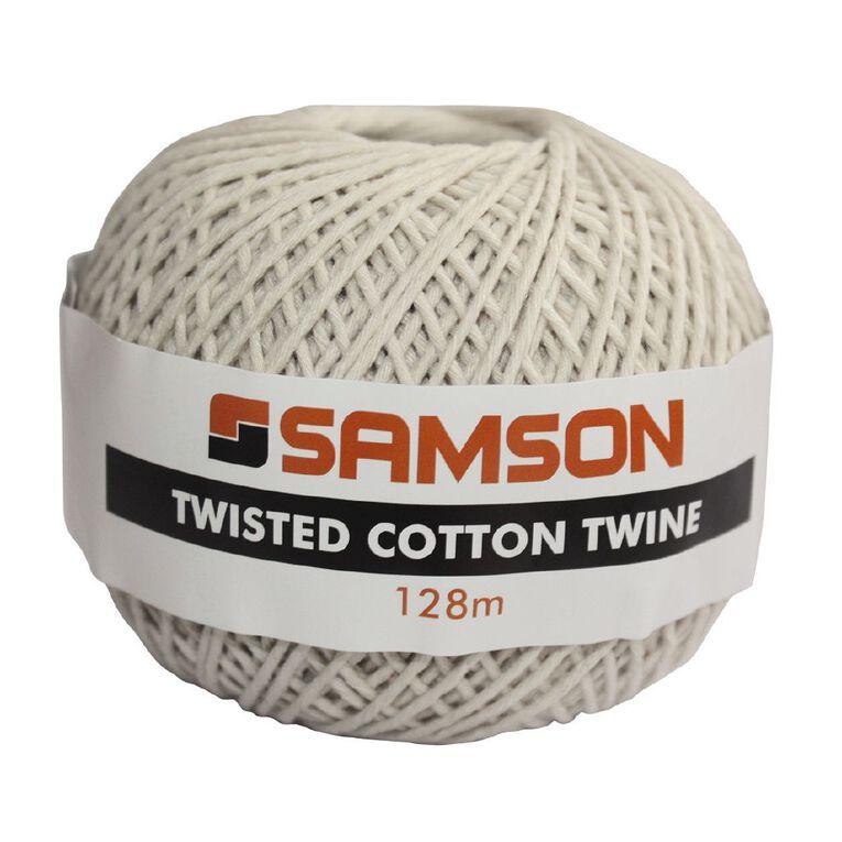 Mako Twisted Cotton Twine 128m, , hi-res