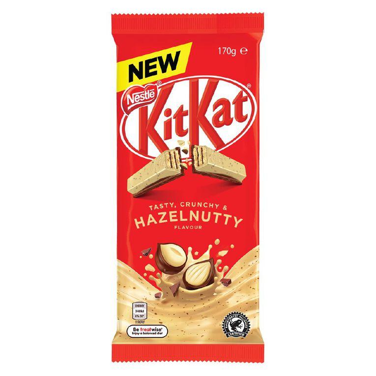 KitKat Hazelnut Block 170g, , hi-res