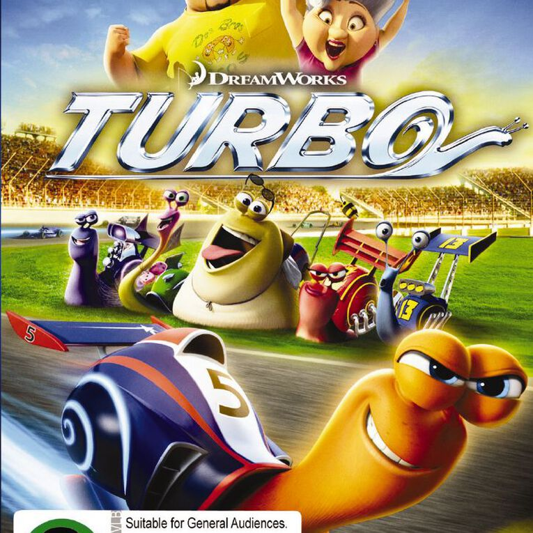 Turbo DVD 1Disc, , hi-res