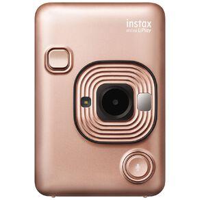 Fujifilm Instax Mini LiPlay Instant Camera Blush Gold