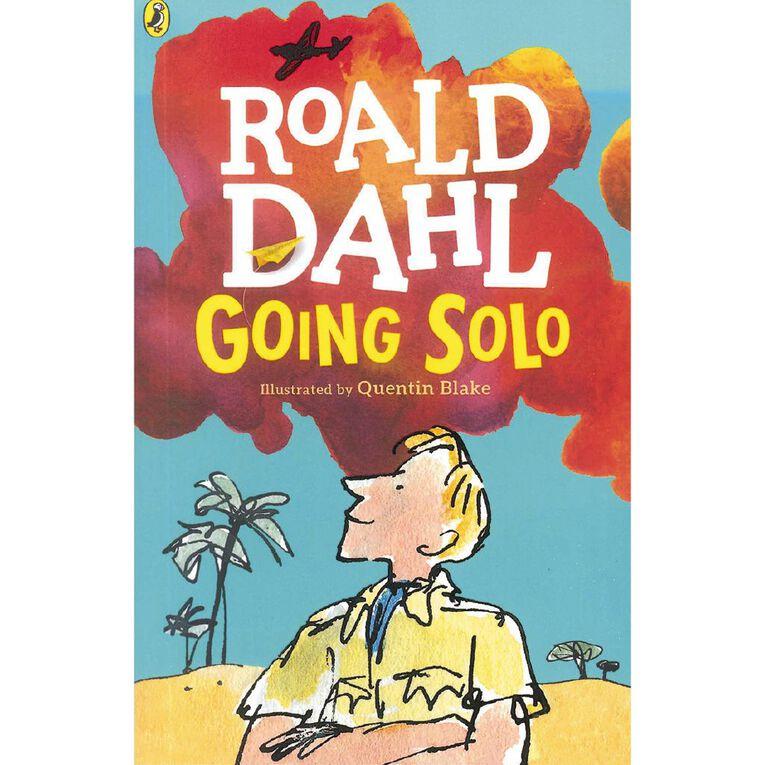Going Solo by Roald Dahl, , hi-res