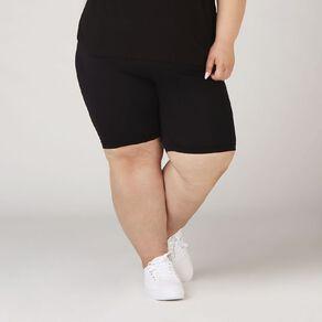 H&H Plus Women's Basic Legging Shorts
