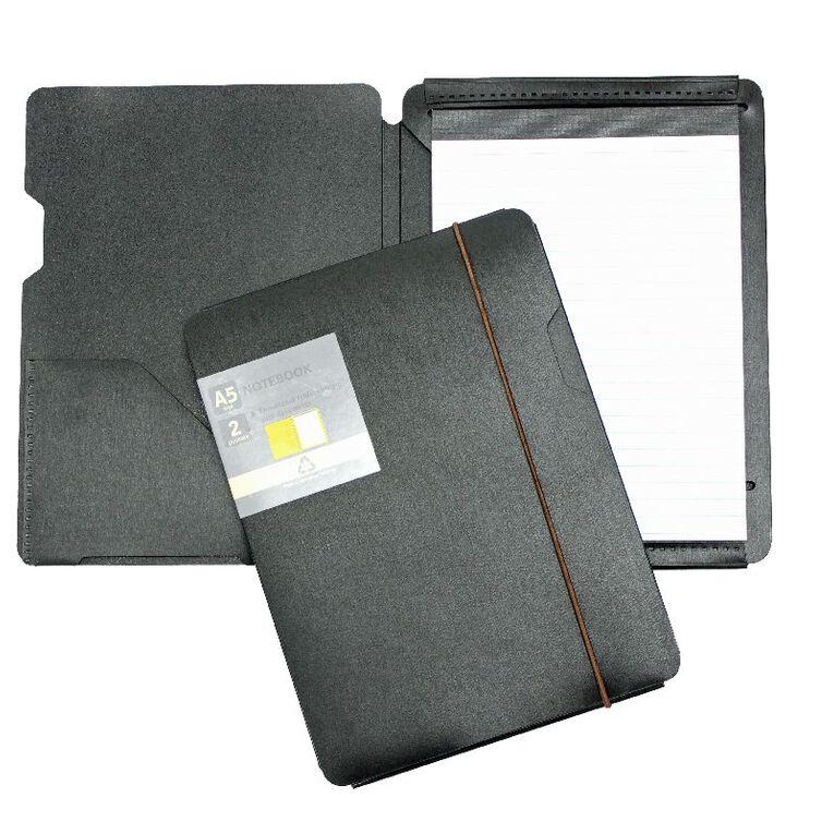 GBP Stationery Eco Notebook Black A5, , hi-res