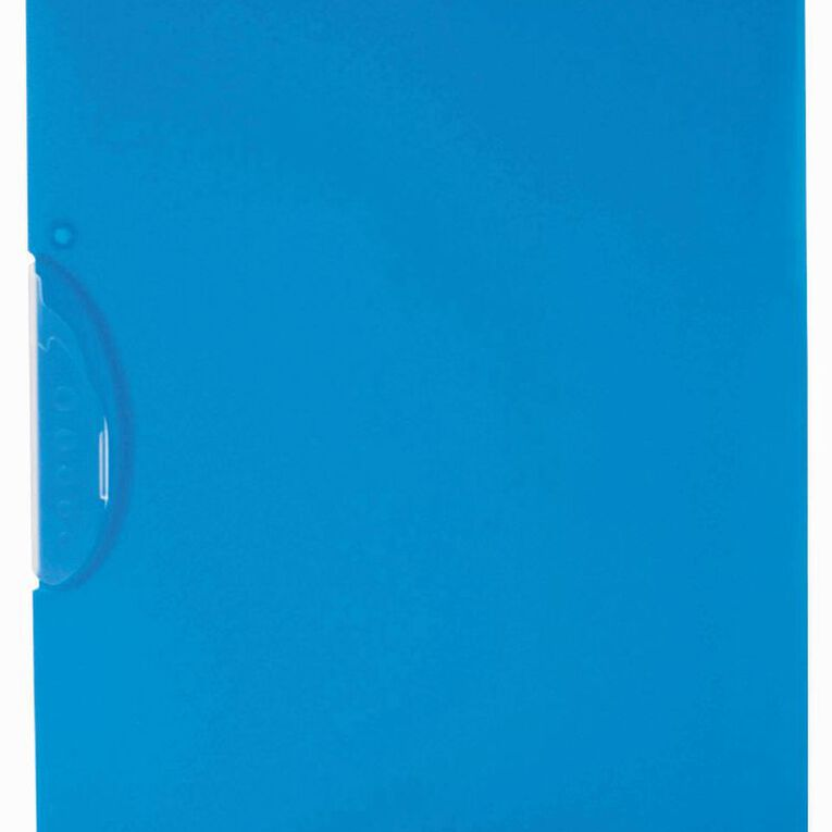 WS Swing Clip File Blue A4, , hi-res
